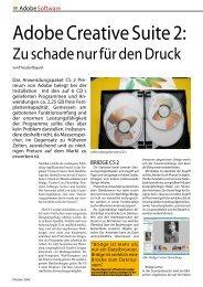 Adobe Creative Suite 2: - Druck + Medien