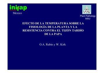 efecto de la temperatura y fotoperiodo sobre la fisiología de la ...
