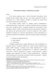 71 Piwowar-Sulej - ORGMASZ - Instytut Organizacji i Zarządzania w ...