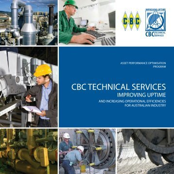 CBC TECHNICAL SERVICES - CBC Bearings