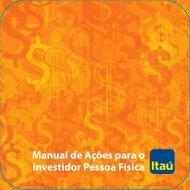 a não s saber ) - Relações com Investidores - Banco Itaú
