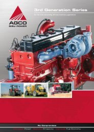 3rd Generation Series - AGCO Power