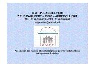 cmpp gabriel peri 7 rue paul bert – 93300 – aubervilliers - Ville d ...