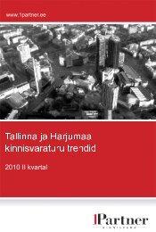 1Partner Kinnisvara turutrendid 2010 II kvartal - City24