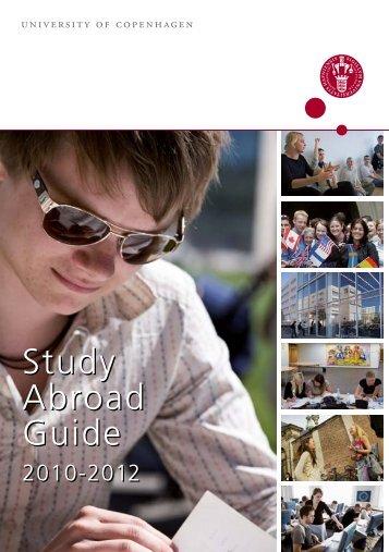 Study abroad guide (pdf) - International students – University of ...