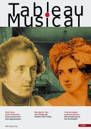 Tableau Musical 07/2009 - Merseburger Verlag