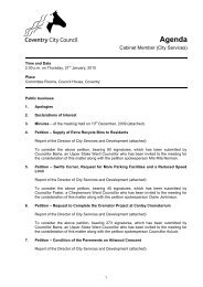 Agenda - 21st January, 2010 - Meetings, agendas, and minutes