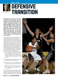 Mike McHugh's Defensive Transition - Basketball New Zealand
