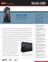 Scalar i2000 datasheet - Unylogix Technologies Inc.