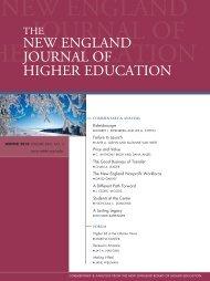 NEJHE's - New England Board of Higher Education