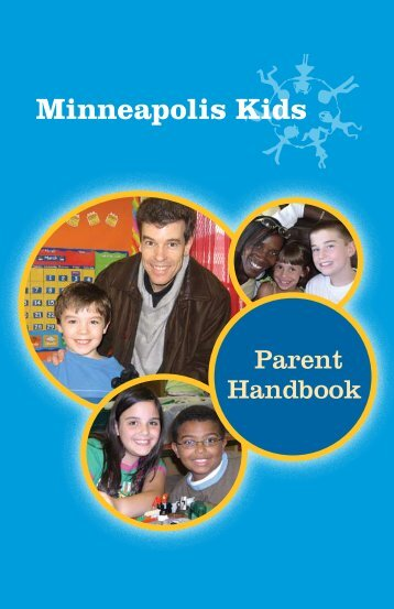 Parent Handbook - Minneapolis Kids - Minneapolis Public Schools