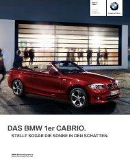 DAS BMW 1er CABRIO.