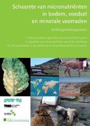 achtergrond rapporten - Platform Landbouw, Innovatie en ...