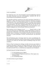Ausbildungsvertrag - MemoPower
