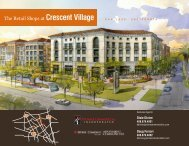 The Retail Shops at Crescent Village - Prime Commercial, Inc