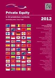 Getting the Deal Through – Private Equity 2012 – Fund ... - Gowlings