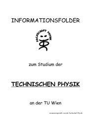 Informationsfolder - Fachschaft Physik