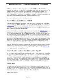 Rezessionen englischer Fachpresse und ... - Der Fliegen-Shop