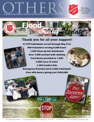 May/June - The Salvation Army USA (Southern Territory)