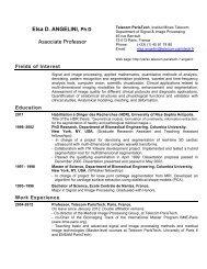 pdf version of my resume - Sites personnels de TELECOM ParisTech