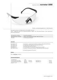 CE EN 166 /170/172 eurostar 4000 www.unicograber.com Einsatz ...