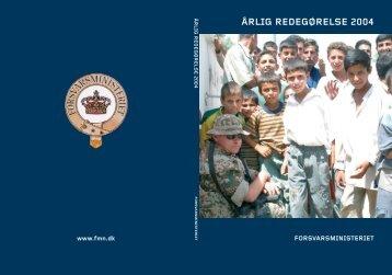 ÅRLIG REDEGØRELSE 2004 - Forsvarsministeriet