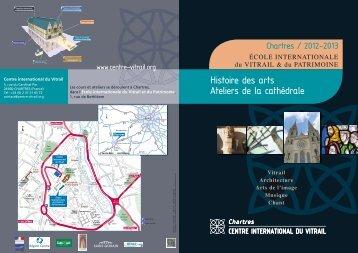 Histoire des arts Ateliers de la cathédrale - Centre international du ...