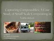 A Case Study Of Small Scale Composting In Vancouver