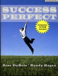 Success Perfect Chapter 1