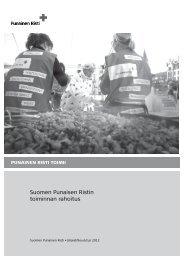 PRn Toiminnan rahoitus PERUS 2012.pdf - RedNet - Punainen Risti