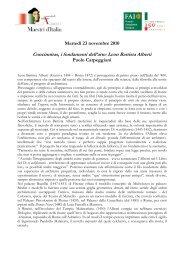 Concinnitas, i fondamenti dell'arte: Leon Battista Alberti
