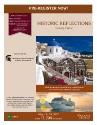historic reflections - MSU Alumni Association - Michigan State ...