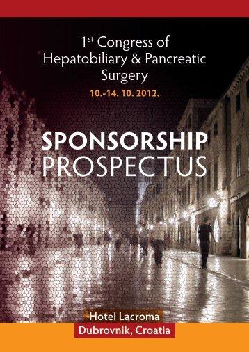 Sponsorship & Exhibition Prospectus in English - Conventus Credo