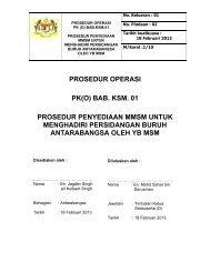 Prosedur Penyediaan MMSM Untuk Menghadiri Persidangan Buruh ...