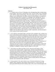 Pediatric Gastrointestinal Emergencies Quiz Answers - AAEM
