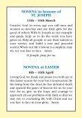 accompanying novena prayer leaflet - Page 2