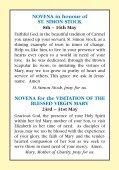 accompanying novena prayer leaflet - Page 3
