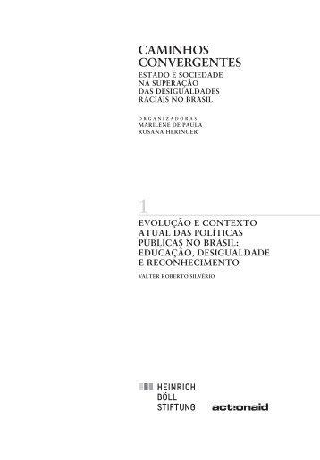 Evolução e contexto atual das políticas públicas no Brasil: educação ...