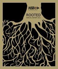 Annual Report 2012 - National Savings Bank