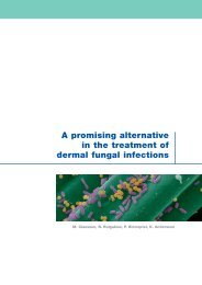 A promising alternative in the treatment of dermal fungal ... - Cutimed