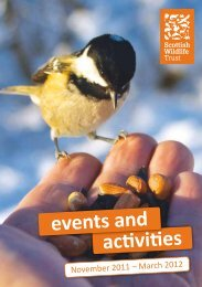 Centres - Scottish Wildlife Trust