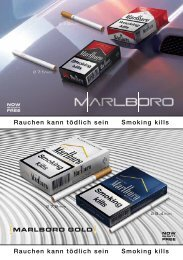 DSD-Katalog 13 Cigarettes - Diplomatic Supply Europe