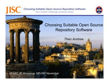 Choosing Suitable Open-Source Repository Software System ...