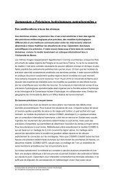Rapport sur le symposium par Felix Würsten - CHy - SCNATweb