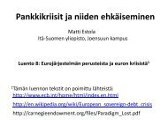 Luento8 - Itä-Suomen yliopisto
