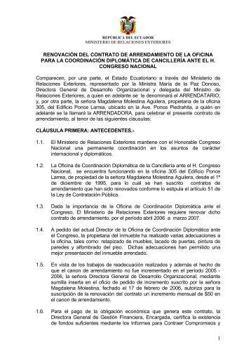 1 contrato de arrendamiento de una aeronave marca lear for Contrato de arrendamiento de oficina