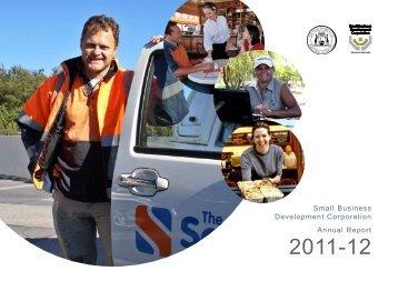 Annual Report 2011-2012 - Small Business Development Corporation