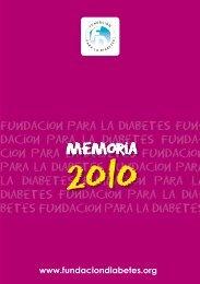 memoria - Fundación para la diabetes