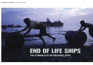 END OF LIFE SHIPS - FIDH