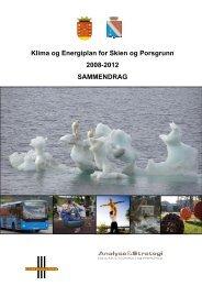 Klima og Energiplan for Skien og Porsgrunn 2008-2012 ...